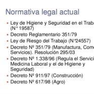 LEYES DE SALUD Y SEGURIDAD LABORAL